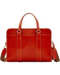 Dooney & Bourke Toscana Executive Elliot Brief - Red