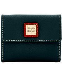 Dooney & Bourke - Pebble Grain Small Flap Wallet - Lyst