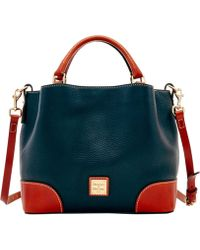 Dooney & Bourke Pebble Grain Small Brenna - Black