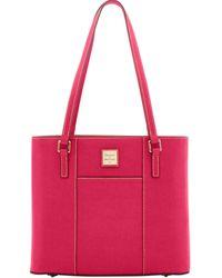 Dooney & Bourke Saffiano Small Lexington - Pink
