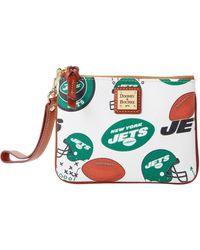 Dooney & Bourke - Nfl Jets Stadium Wristlet - Lyst