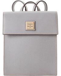 Dooney & Bourke Saffiano Backpack - Multicolor