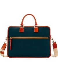 Dooney & Bourke - Pebble Grain Brooklyn Briefcase - Lyst