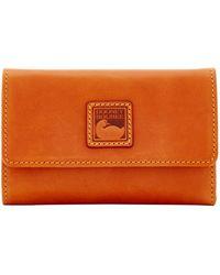 Dooney & Bourke Florentine Flap Wallet - Natural
