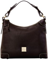 Dooney & Bourke Pebble Grain Hobo - Black