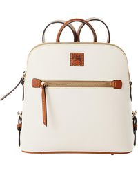 Dooney & Bourke Pebble Grain Backpack - White