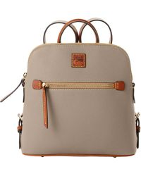 Dooney & Bourke Pebble Grain Backpack - Brown
