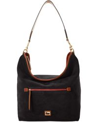 Dooney & Bourke - Camden Suede Large Hobo - Lyst