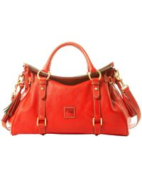 Dooney & Bourke Florentine Medium Satchel - Red