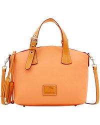 Dooney & Bourke - Patterson Leather Trina Satchel - Lyst