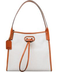 Dooney & Bourke Oncour Cabriolet Mini Full Up Two - White