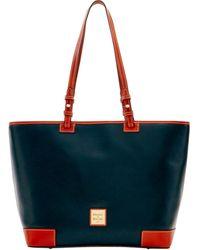 Dooney & Bourke Saffiano Leisure Shopper - Multicolor