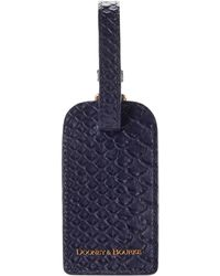 Dooney & Bourke Caldwell Luggage Tag - Blue
