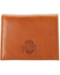 Dooney & Bourke Ncaa Ohio State Credit Card Holder - Brown