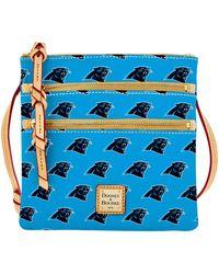 Dooney & Bourke - Nfl Panthers Triple Zip Crossbody - Lyst