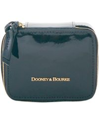 Dooney & Bourke Patent Leather Travel Jewelry Case - Black