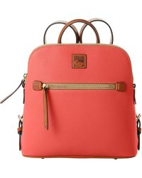 Dooney & Bourke Pebble Grain Backpack - Red