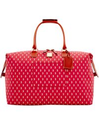 Dooney & Bourke Mlb Red Sox Medium Duffle