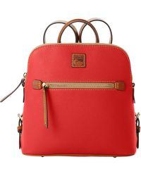 Dooney & Bourke Pebble Grain Backpack - Red