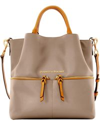 Dooney & Bourke - City Large Dawson - Lyst