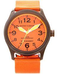 Dooney & Bourke Watches Mariner Watch - Orange