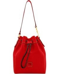 Dooney & Bourke Florentine Hattie Drawstring - Red