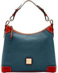 Dooney & Bourke Pebble Grain Hobo - Blue