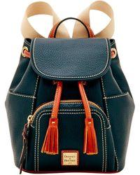 Dooney & Bourke Pebble Grain Large Backpack - Black