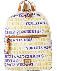 Dooney & Bourke Nfl Vikings Backpack - Multicolor