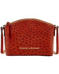 Dooney & Bourke - Ostrich Ruby Crossbody - Lyst
