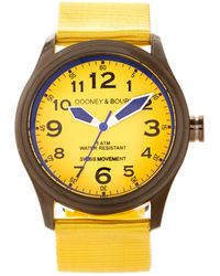 Dooney & Bourke Watches Mariner Watch - Yellow
