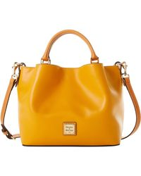 Dooney & Bourke Wexford Leather Small Brenna - Yellow