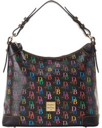 Dooney & Bourke Db75 Multi Hobo - Black