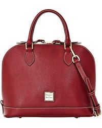Dooney & Bourke - Saffiano Zip Zip Satchel - Lyst
