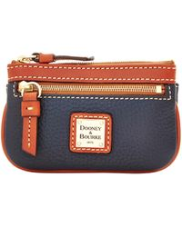 Dooney & Bourke - Pebble Grain Small Coin Case - Lyst