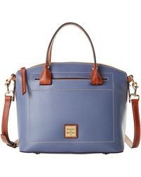Dooney & Bourke Claremont Domed Satchel - Blue