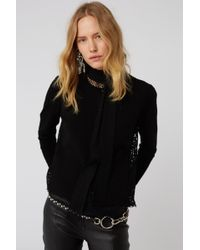 Dorothee Schumacher - Lace Embrace Cardigan O-neck 1/1 - Lyst