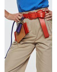 Dorothee Schumacher Touch Of Color Color Belt 4cm - Red