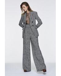 Dorothee Schumacher Checked Comfort Pants - Gray