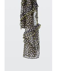 Dorothee Schumacher - Frilled Attraction Frill Detail Print Scarf - Lyst