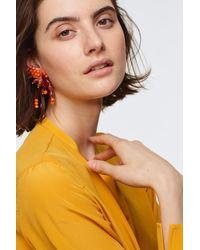 Dorothee Schumacher Beaded Dreams Asymmetric Earrings - Multicolor