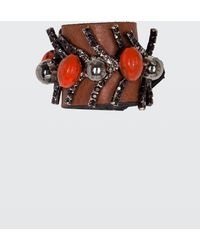 Dorothee Schumacher | Delightfully Decorated Embroidered Scarf Ring | Lyst