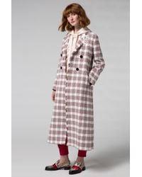 Dorothee Schumacher - Tartan Luxury Coat Sleeve 1/1 - Lyst