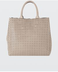 Dorothee Schumacher | Leather Lace Laser Cut Tote Bag | Lyst