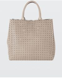 Dorothee Schumacher - Leather Lace Laser Cut Tote Bag - Lyst
