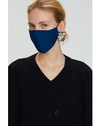Dorothee Schumacher Smooth Companion Silk Mask - Blue