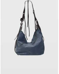 Dorothee Schumacher - Wild Velvet Velvet Bag With Adjustable Leather Handle - Lyst