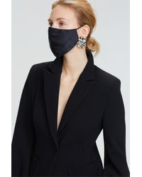 Dorothee Schumacher Smooth Companion Silk Mask - Black