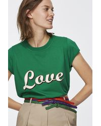 Dorothee Schumacher Touch Of Color Skinny Belt 1,2cm - Green