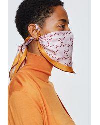 Dorothee Schumacher Silky Kiss Foulard Mask - Multicolor